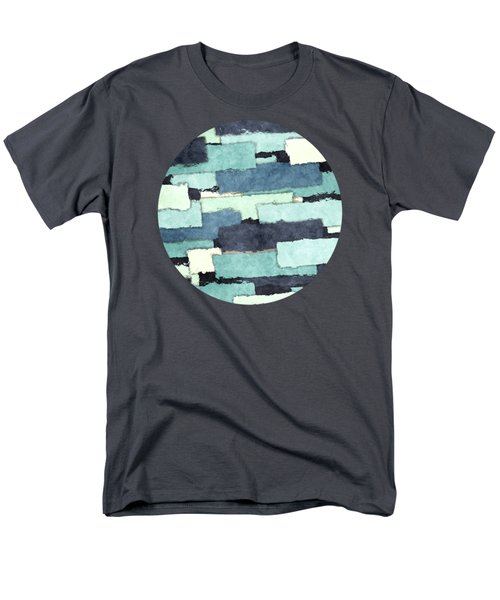 Layers Of Colors Pattern Men's T-Shirt  (Regular Fit) by Phil Perkins