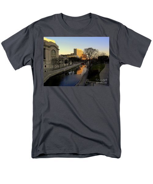 Men's T-Shirt  (Regular Fit) featuring the photograph Le Rideau, by Elfriede Fulda