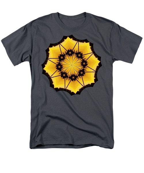Leafy Kaleidoscope 2 Men's T-Shirt  (Regular Fit) by Lori Kingston