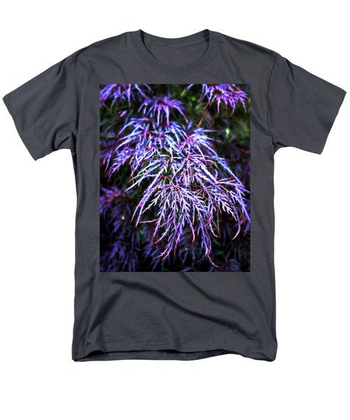 Leaves In The Light Men's T-Shirt  (Regular Fit) by Robert FERD Frank