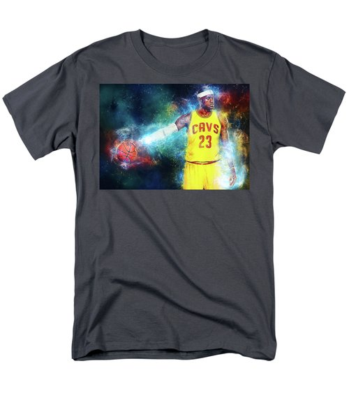 Lebron James Men's T-Shirt  (Regular Fit) by Taylan Apukovska