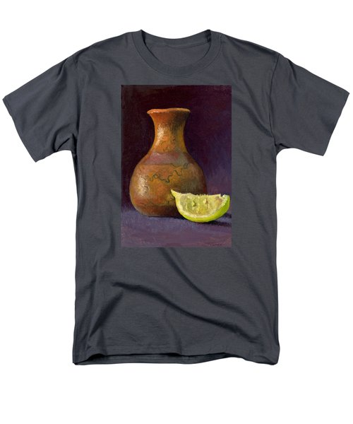 Lemon And Horsehair Vase A First Meeting Men's T-Shirt  (Regular Fit) by Catherine Twomey