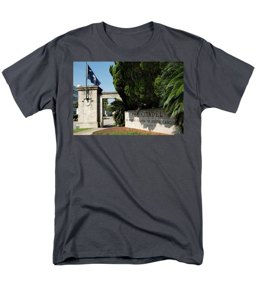 Lesesne Gate Men's T-Shirt  (Regular Fit) by Ed Waldrop