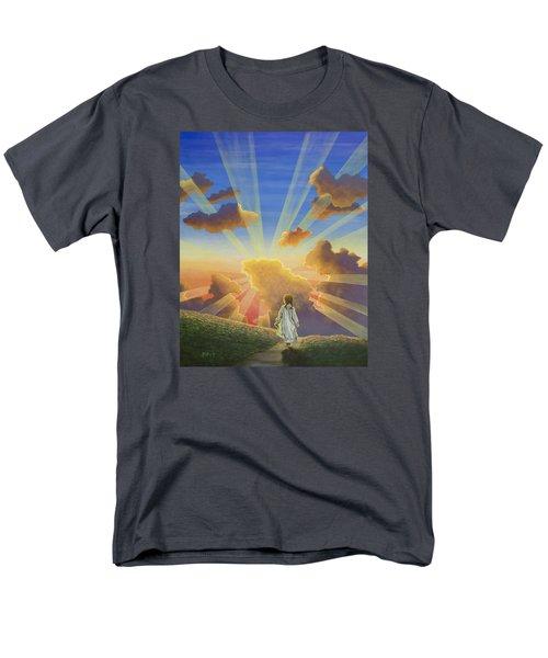 Let The Day Begin Men's T-Shirt  (Regular Fit) by Jack Malloch
