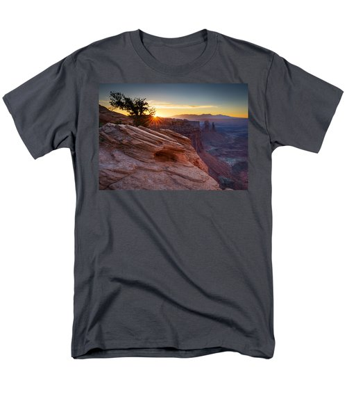 Men's T-Shirt  (Regular Fit) featuring the photograph Let There Be Light by Dan Mihai