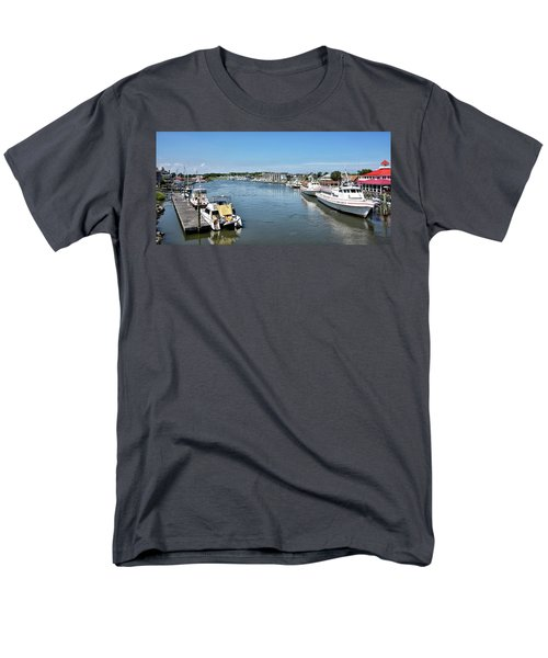 Men's T-Shirt  (Regular Fit) featuring the photograph Lewes Delaware by Brendan Reals