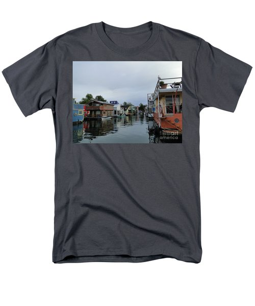 Life On The Water Men's T-Shirt  (Regular Fit) by Cindy Croal