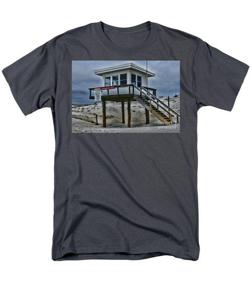 Lifeguard Station 2  Men's T-Shirt  (Regular Fit) by Paul Ward