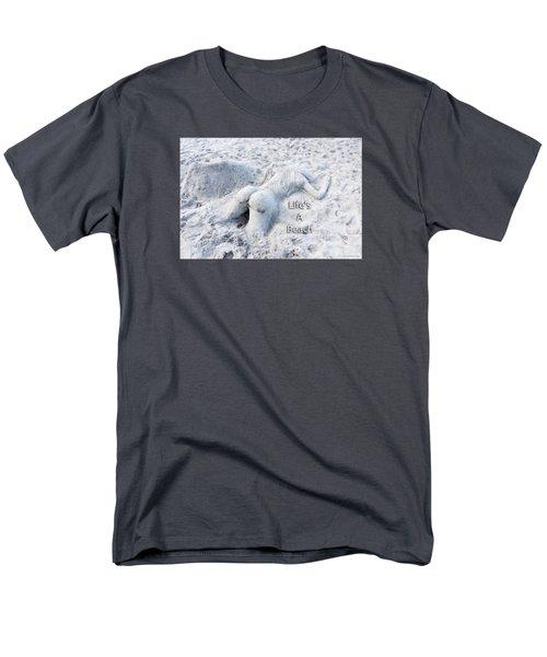 Life's A Beach By Sharon Cummings Men's T-Shirt  (Regular Fit)