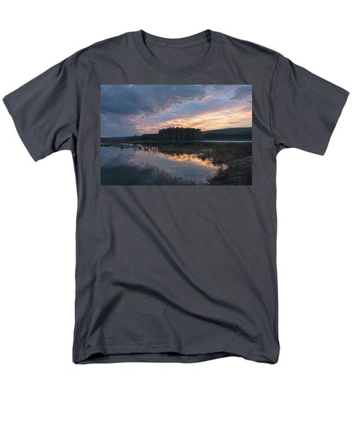 Light And Dark Men's T-Shirt  (Regular Fit) by Angelo Marcialis