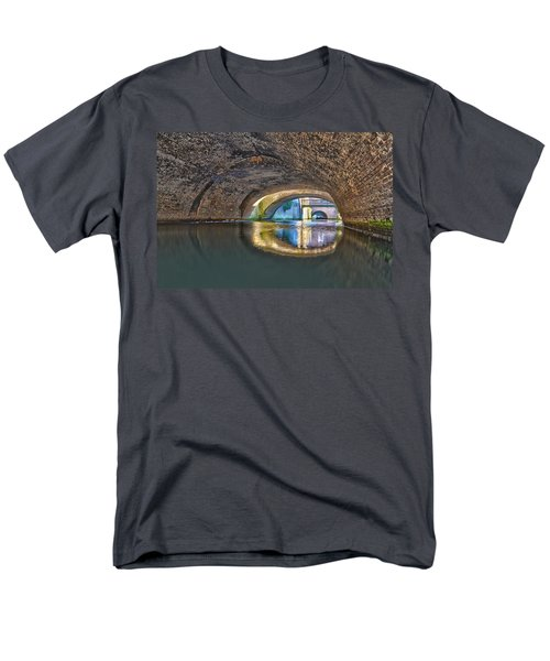 Light At The End Of The Tunnel Men's T-Shirt  (Regular Fit) by Frans Blok