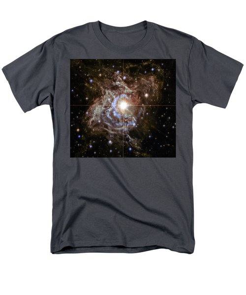 Men's T-Shirt  (Regular Fit) featuring the photograph Light Echoes by Marco Oliveira