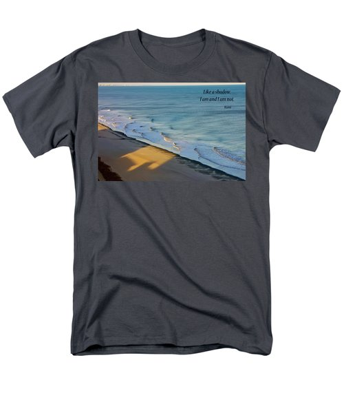 Men's T-Shirt  (Regular Fit) featuring the photograph Like A Shadow by Rhonda McDougall