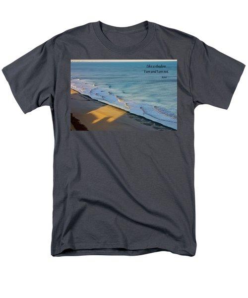 Like A Shadow Men's T-Shirt  (Regular Fit) by Rhonda McDougall