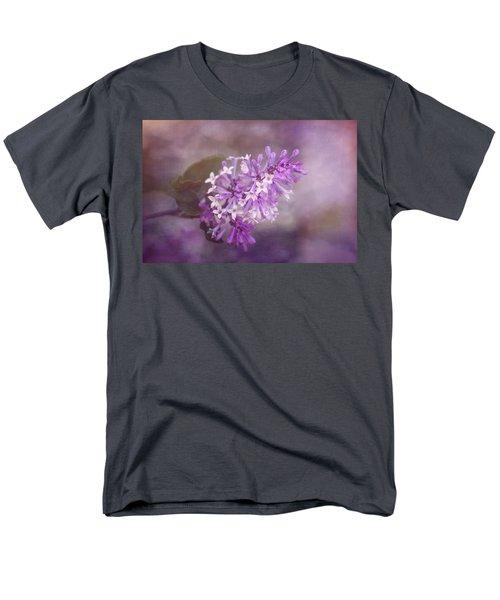 Men's T-Shirt  (Regular Fit) featuring the photograph Lilac Blossom by Tom Mc Nemar