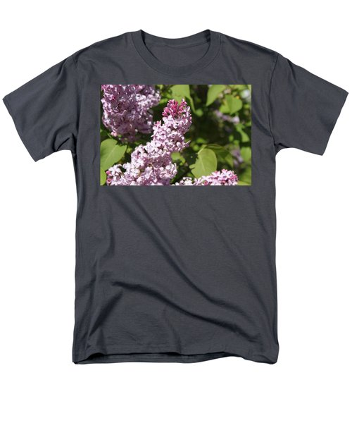 Men's T-Shirt  (Regular Fit) featuring the photograph Lilacs 5552 by Antonio Romero
