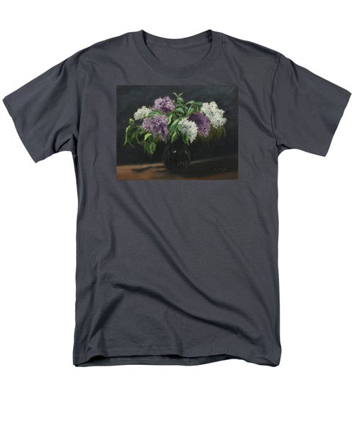Lilacs Men's T-Shirt  (Regular Fit) by Alan Mager