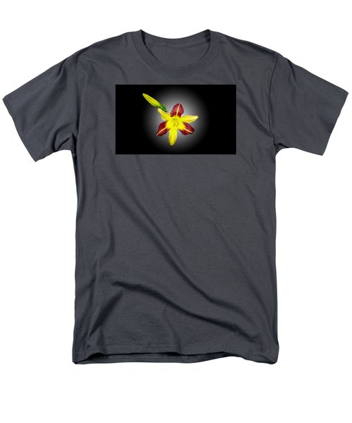 Men's T-Shirt  (Regular Fit) featuring the photograph Lily And Bud by Mike Breau