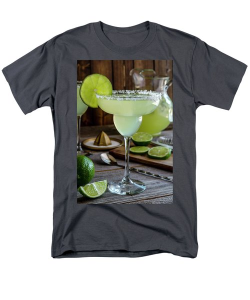 Men's T-Shirt  (Regular Fit) featuring the photograph Lime Margaritas by Teri Virbickis