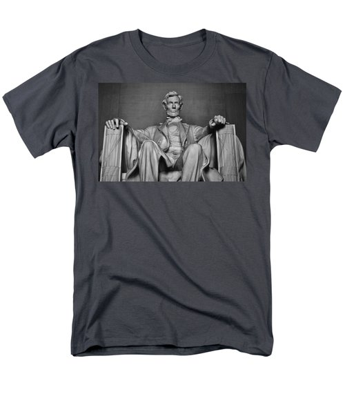Lincoln Memorial Men's T-Shirt  (Regular Fit) by Kyle Hanson