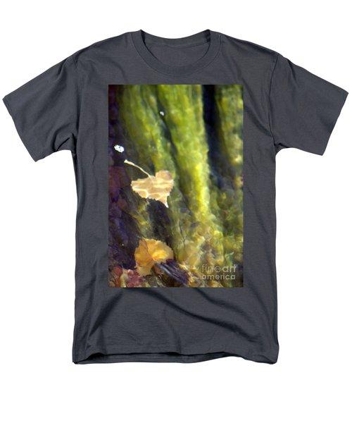 Liquid Leaves 1 Men's T-Shirt  (Regular Fit) by Alycia Christine