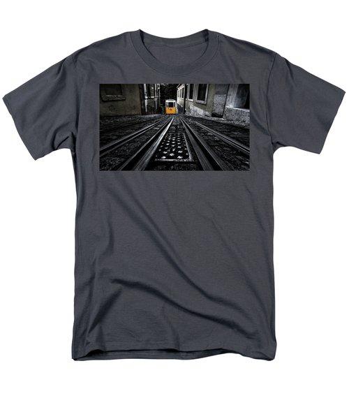 Lisbon Tram Men's T-Shirt  (Regular Fit) by Jorge Maia