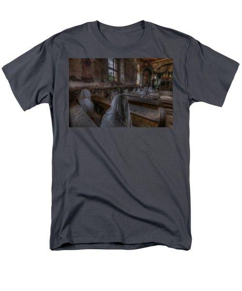 Listen  Men's T-Shirt  (Regular Fit) by Nathan Wright