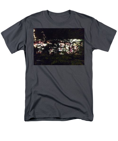 Men's T-Shirt  (Regular Fit) featuring the photograph Lit Like Stained Glass by Felipe Adan Lerma