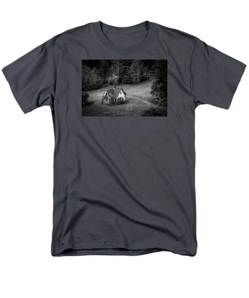 Men's T-Shirt  (Regular Fit) featuring the photograph Little Victorian House In The Mountains by Kelly Hazel