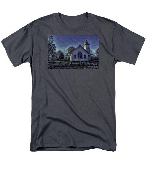 Little White Church Men's T-Shirt  (Regular Fit)