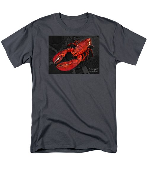 Lobstah Men's T-Shirt  (Regular Fit) by William Fields