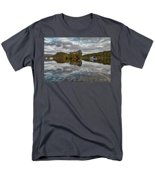 Loch Lomond At Aldochlay Men's T-Shirt  (Regular Fit) by Jeremy Lavender Photography
