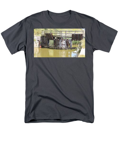 Lock Men's T-Shirt  (Regular Fit) by Keith Sutton