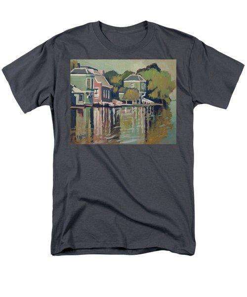 Lofts Along The River Zaan In Zaandam Men's T-Shirt  (Regular Fit)