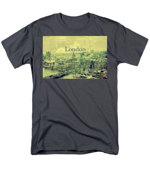 London Calling You Back Men's T-Shirt  (Regular Fit) by Karen McKenzie McAdoo