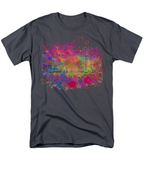 London Colour Men's T-Shirt  (Regular Fit)