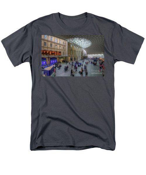 Men's T-Shirt  (Regular Fit) featuring the photograph London King's Cross by Yhun Suarez