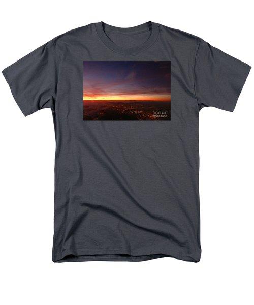 Men's T-Shirt  (Regular Fit) featuring the photograph London Sunset by AmaS Art