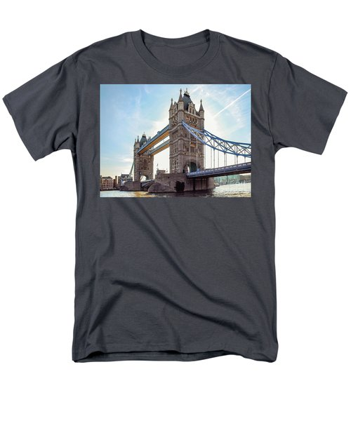 Men's T-Shirt  (Regular Fit) featuring the photograph London - The Majestic Tower Bridge by Hannes Cmarits