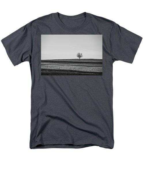 Lone Hawthorn Tree Iv Men's T-Shirt  (Regular Fit) by Helen Northcott