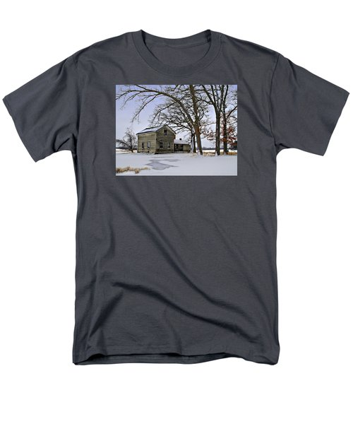 Men's T-Shirt  (Regular Fit) featuring the photograph Lonely And Abandoned by Judy Johnson
