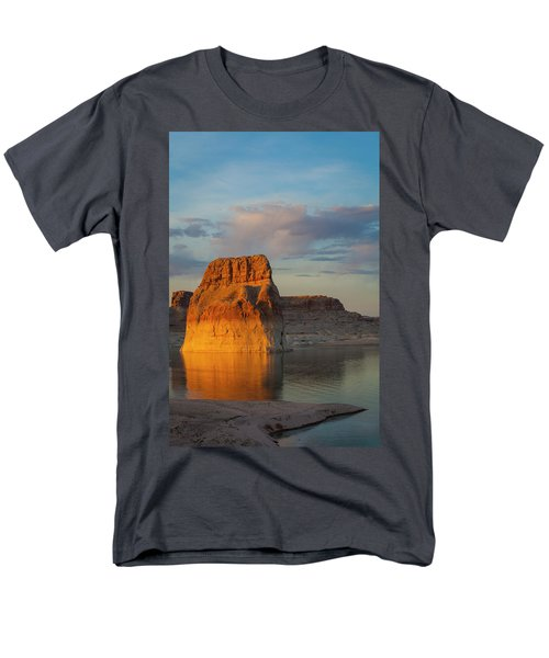 Lonely Rock Men's T-Shirt  (Regular Fit) by David Cote