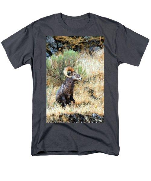Loner Iv Men's T-Shirt  (Regular Fit) by Steve Warnstaff