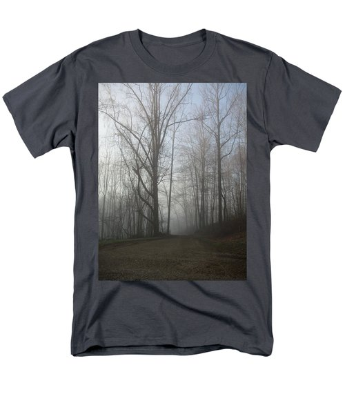 Men's T-Shirt  (Regular Fit) featuring the photograph Lonesome Road by Cynthia Lassiter