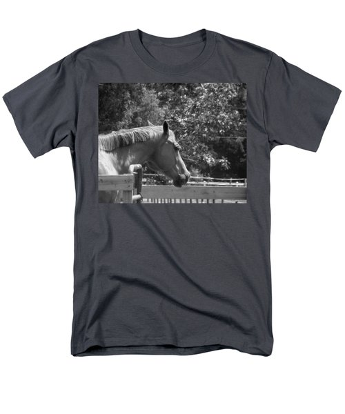 Men's T-Shirt  (Regular Fit) featuring the photograph Longing by Sandi OReilly