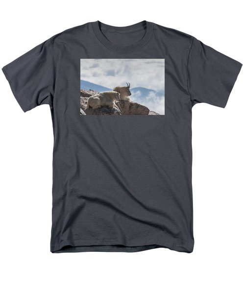 Men's T-Shirt  (Regular Fit) featuring the photograph Looking Down On The World by Gary Lengyel