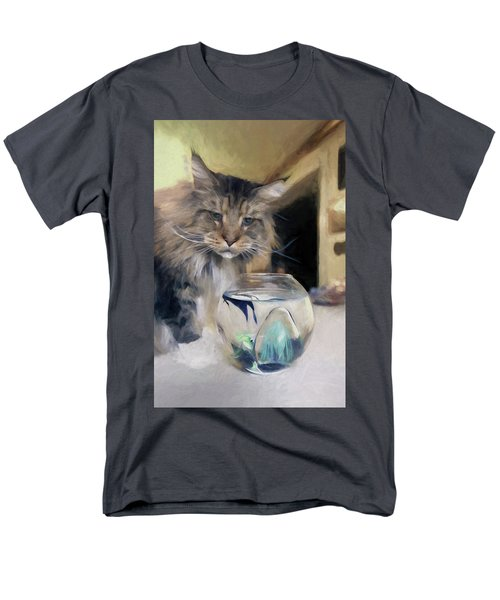 Look's Like Dinner's Just About Ready. Men's T-Shirt  (Regular Fit)