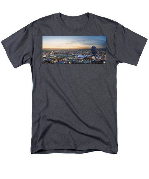 Los Angeles West View Men's T-Shirt  (Regular Fit) by Kelley King