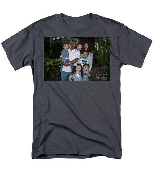Men's T-Shirt  (Regular Fit) featuring the photograph Love Demonstrated 2 James Ingram Family Art by Reid Callaway
