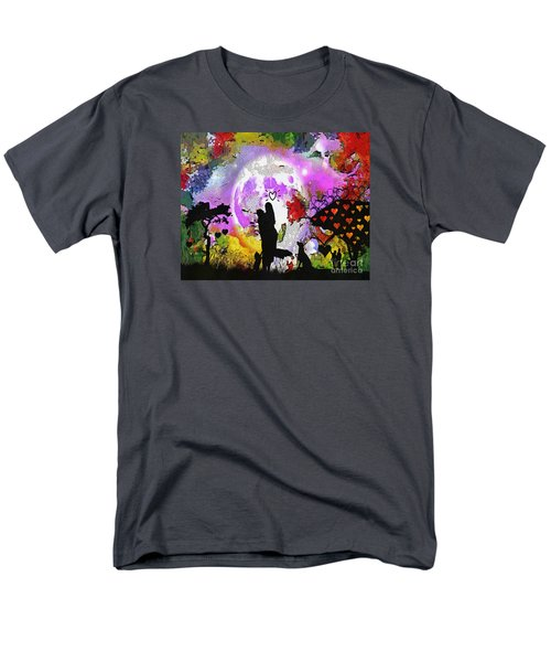 Love Family And Friendship In The Mix Men's T-Shirt  (Regular Fit) by Catherine Lott